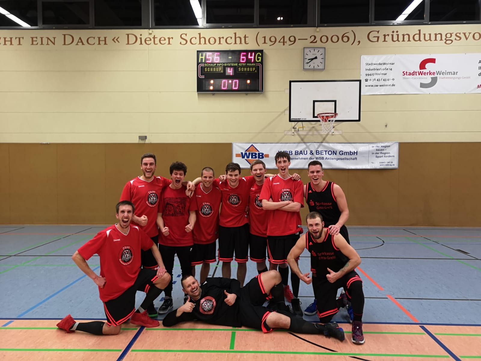 Z'Airs vs HSV-KSSV Weimar